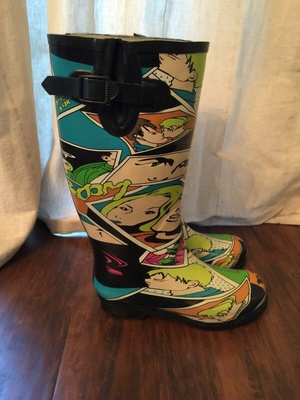 Awesome rain boots