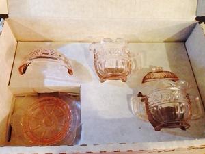 Vintage sugar and creamer set