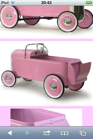 1932 girls Ford ride on