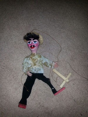 Mexican marionette puppet