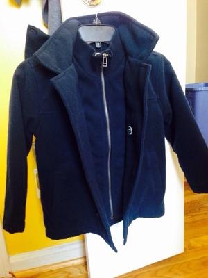 Gymboree Coat with hood- size 5-6