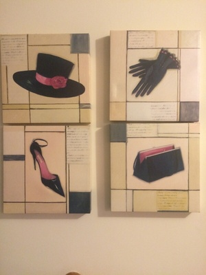 Fashion Canvas Wall Art (Set of 4)