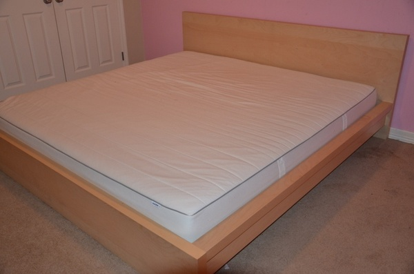 offerup ikea malm bed set includes mattress king size furniture in seattle wa. Black Bedroom Furniture Sets. Home Design Ideas