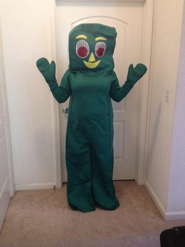 Gumby Halloween Costume Adult Gumby Halloween Costume