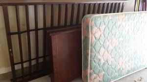 Twen bed with mattress